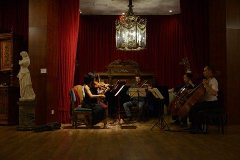 摩纳哥国家弦乐重奏团音乐酒会