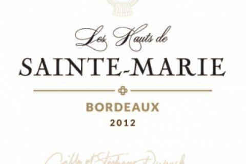 圣玛丽高地干红葡萄酒 Les Hauts de Sainte-Marie